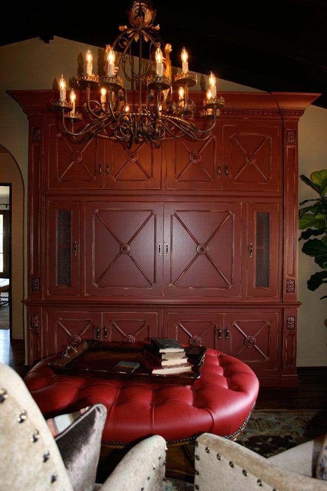 San Marino Family Library Cabinet
