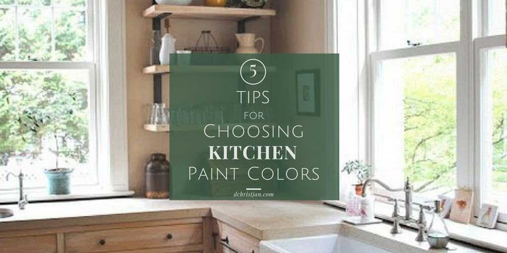 tips for kitchen paint color