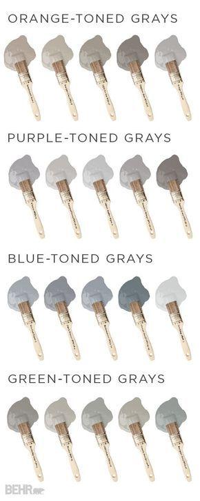 Gray undertones