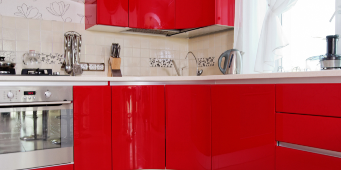 handle-less cabinets